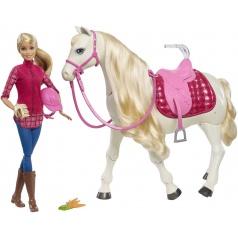 Mattel FRV36 Barbie DREAM HORSE KŮŇ SNŮ