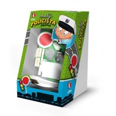 EFKO dětská hrací sada Malý policista krabice