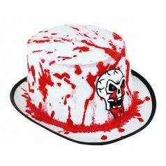 Karnevalový klobouk s krví dospělý