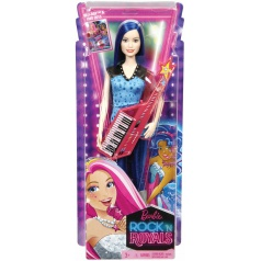 Mattel Barbie Rock 'N Royals Rockerka  CKB60