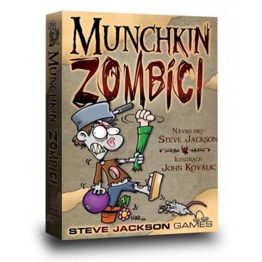 ADC BlackFire hra Munchkin - Zombíci