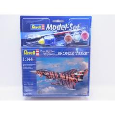 Revell ModelSet letadlo 63970 - Eurofighter Bronze Tiger (1:144)
