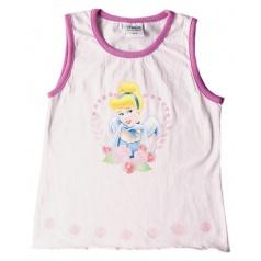 """Tričko dívčí bez rukávů """"Princess"""" růžové, vel.10"""