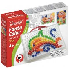 Quercetti dětská mozaika Fantacolor Portable 150ks