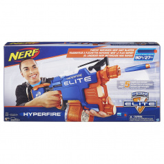 NERF Elite Hyper Fire pistole na šipky B5573
