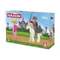 IGRÁČEK TRIO - Princezna, rytíř a bílý kůň