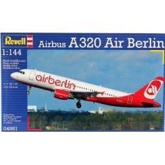 Revell Plastic ModelKit letadlo 04861 - Airbus A320 AirBerlin (1:144)
