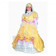 Dětský karnevalový kostým princezna Zlatava vel. S