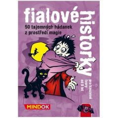 Mindok hra Černé historky - Fialové historky