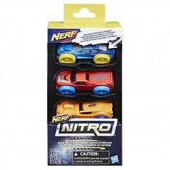 Hasbro C0774 Nerf Nitro náhradní autíčka Nitro 3 ks asst