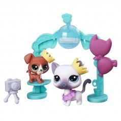 Hasbro Littlest Pet Shop B9347 Tematický set se 2 zvířátky