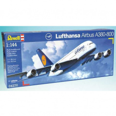 "Revell Plastic ModelKit letadlo 04270 Airbus A380 ""Lufthansa"" (1:144)"