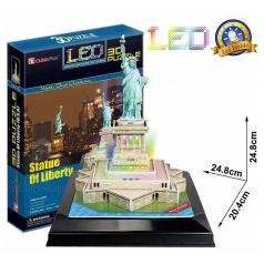 3D Puzzle Socha Svobody LED svítící 37dílků