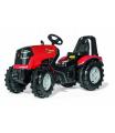 ROLLYTOYS 640010 Šlapací traktor X-Trac Premium červený
