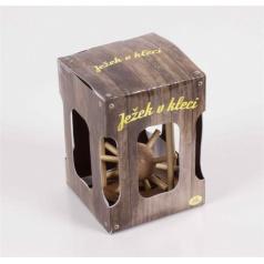 Albi Dřevěný hlavolam Ježek v kleci