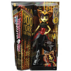 Mattel panenka Monster High Boo York Hvězdné příšerky