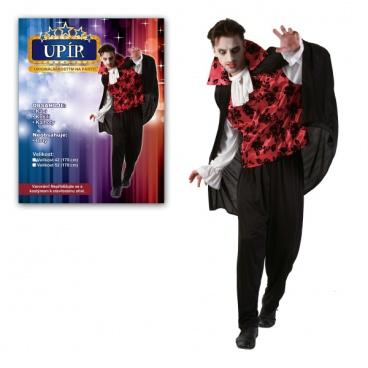 Šaty na karneval pro dospělé - Upír karnevalový kostým