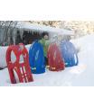ROLLYTOYS Snow Max boby-červené