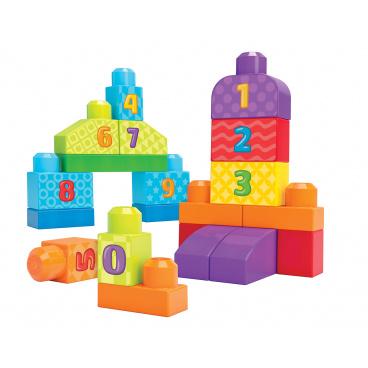 Mega Bloks First Builders 123 KOSTKY