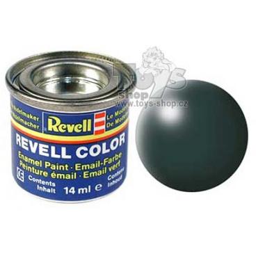 Revell emailová barva 32365 hedvábná patina zelená