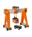 BRIO 33732 Konstrukční jeřáb příslušenství k vláčkodráhám