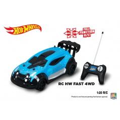 Nikko Hot Wheels Nikko auto RC Fast 4wd, 4 druhy