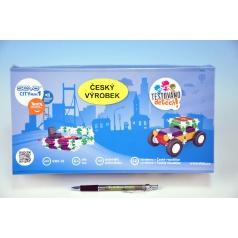 Vista Stavebnice Seva City mini 1 plast 145ks v krabici 31x16x7,5cm