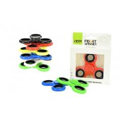 Hand Fidget Spinner 6 druhů, antistresová hračka s kovovými ložisky