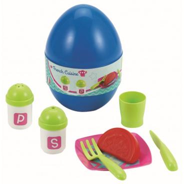 Vajíčko s jídelním setem, DP9, 3 druhy