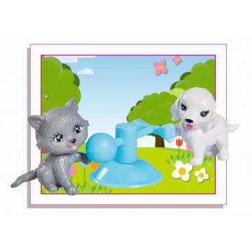 Simba Panenka Evička s pejskem a kočičkou