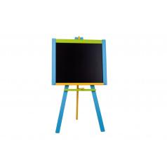 Tabuľa stojanová modrá sololit drevená 100x56cm v krabici 57x101x6,5cm