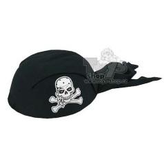 šátek pirátský černý dětský