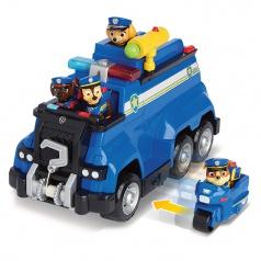 PAW PATROL VELKÝ POLICEJNÍ VŮZ S EFEKTY A MOTORKOU