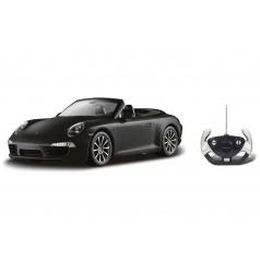 Conquest Auto RC Porsche 911 Carrera S Cabriolet plast 35cm na batérie v krabici 50x21x22,5cm