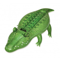 Bestway Nafukovací krokodýl s držadlem, 168 x 89 cm