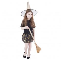 Rappa Dětský kostým tutu sukně s kloboukem Halloween