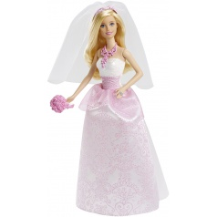 Mattel Barbie MATTEL PANENKA BARBIE NEVĚSTA CFF37