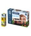 Trefl Pack Stavějte z cihel Hasičská stanice stavebnice Brick Trick + lepidlo grátis v krabici 35x25x7cm