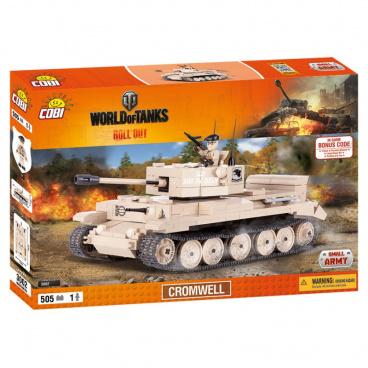 COBI World Of Tanks stavebnice tanku Cromwell 505 kostek, 1 f