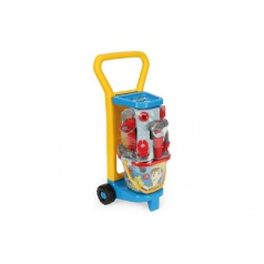 WADER Vozík s nářadím plast 60x25x20cm s doplňky v síťce