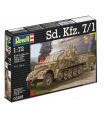 Revell Plastic ModelKit tank 03195 - Sd.Kfz. 7/1 (1:72)