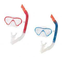 Bestway Šnorchlovací set - brýle a šnorchl - mix 2 barvy (modrá, červená)