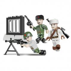 Cobi Figurky s doplňky Sovětská armáda zimní 3 figurky 26 k
