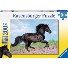 Ravensburger Čierny žrebec 200 dielikov