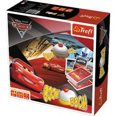 Trefl Boom Boom Auta 3, postřehová hra