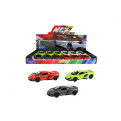 Teddies Auto Welly McLaren coupe 12cm kov asst 3 farby 12ks v boxe