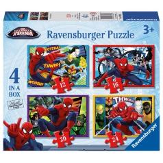 Ravensburger dětské puzzle Disney Spider-man 12/16/20/24 dílků