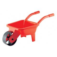 Ecoiffier Zahradní kolečko plastové, zelené/červené