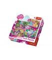Trefl Puzzle 4v1 My Little Pony v krabici 28x28x6cm