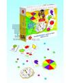 PEXI Alexander hra Splašené žetonky barvy a tvary